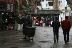 Mercato di Nanchino Fuzimiao, Cina Fotografie Stock Libere da Diritti