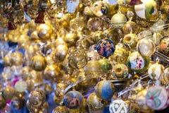 Mercato di Natale Immagini Stock Libere da Diritti