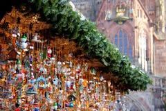 Mercato di Natale Fotografia Stock