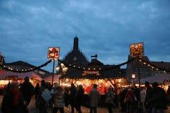 Mercato di Natale Fotografia Stock Libera da Diritti