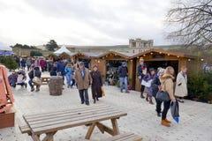 Mercato di Natale di Chatsworth immagini stock libere da diritti