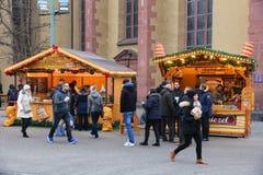 Mercato di Natale della Germania Immagine Stock