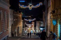 Mercato di Natale di Zagabria Immagine Stock Libera da Diritti
