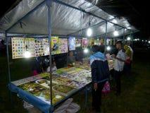 Mercato di notte fotografie stock