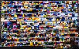 Mercato di notte da sopra Immagine Stock Libera da Diritti
