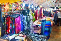 Mercato di notte della Tailandia Chang Mai Immagini Stock