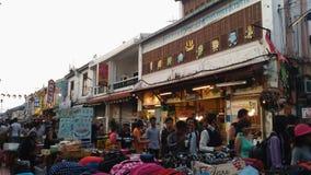 Mercato di notte della via di Jonker Fotografia Stock Libera da Diritti
