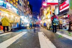 Mercato di notte di Keelung Fotografie Stock