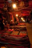 Mercato di notte in Luang Prabang Laos Immagine Stock