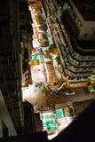 Mercato di notte, via del tempio, Hong Kong Fotografie Stock Libere da Diritti