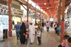 Mercato di oro del Dubai Fotografia Stock Libera da Diritti