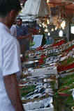 Mercato di pesci, Costantinopoli immagine stock