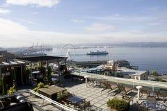 Mercato di posto di luccio di lungomare di Seattle Fotografia Stock Libera da Diritti
