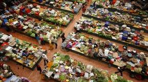 Mercato di prodotti freschi Fotografia Stock