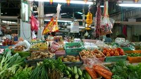 Mercato di prodotti freschi di Bangkok Immagini Stock Libere da Diritti