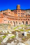 Mercato di Roma, Italia - di Traiano Immagini Stock Libere da Diritti