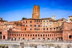 Mercato di Roma, Italia - di Traiano Immagine Stock Libera da Diritti