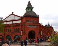 Mercato di Saluhall, Stoccolma Svezia Immagini Stock Libere da Diritti
