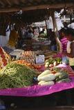 Mercato di Sambava nel Madagascar Immagini Stock Libere da Diritti