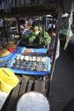Mercato di Sambava nel Madagascar Fotografia Stock Libera da Diritti