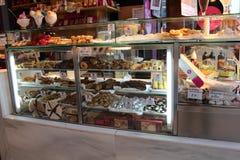 Mercato di San Miguel, negozio della frutta Madrid, Spagna Fotografie Stock