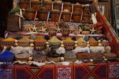 Mercato di sice dell'Egitto Fotografie Stock Libere da Diritti