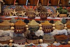 Mercato di sice dell'Egitto Fotografia Stock