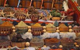 Mercato di sice dell'Egitto Immagini Stock Libere da Diritti