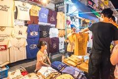 Mercato di strada di camminata Wualai Immagine Stock