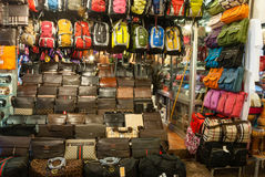 Mercato di strada di notte Fotografia Stock Libera da Diritti