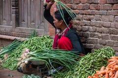Mercato di strada di verdure Immagine Stock