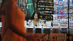 Mercato di strada Music Store Fotografia Stock Libera da Diritti