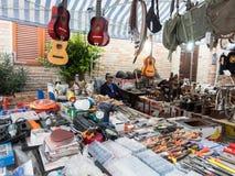 Mercato di strada tipico in Italia Fotografie Stock Libere da Diritti