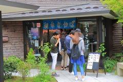 Mercato di strada Wajima Ishukawa Giappone Immagine Stock