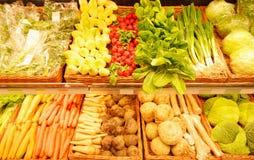 Mercato di verdure Fotografia Stock