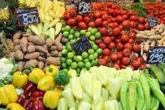 Mercato di verdure Immagine Stock Libera da Diritti