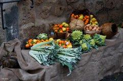 Mercato di verdure Fotografie Stock