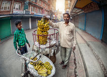 Mercato di verdure a Kathmandu Immagine Stock Libera da Diritti