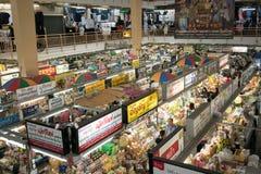 Mercato di Warorot in Chiang Mai, Tailandia Immagini Stock Libere da Diritti