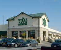 Mercato di Whole Foods, Omaha, Nebraska, facciata Immagine Stock Libera da Diritti