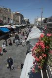Mercato di yehuda di Machane del jerusael, Israele Immagini Stock Libere da Diritti