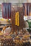 Mercato di Yerevan Frutta secca Fotografia Stock