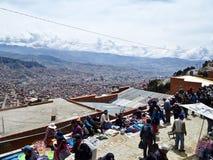 Mercato a El Alto, Bolivia Fotografia Stock Libera da Diritti