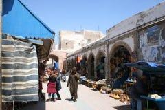Mercato in Essaouira, Marocco Immagini Stock