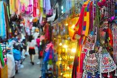 Mercato famoso di Chatuchak, Bangkok, Tailandia Fotografia Stock
