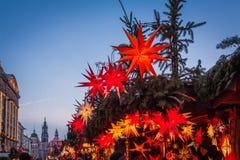 Mercato famoso di Natale di Dresda immagine stock libera da diritti
