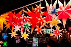 Mercato famoso di Natale di Dresda immagini stock libere da diritti