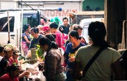 Mercato famoso di Ubud, Bali Immagini Stock