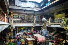 Mercato famoso di Ubud, Bali Fotografia Stock
