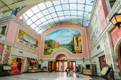Mercato galleria, Dubai, UAE Arkivfoton